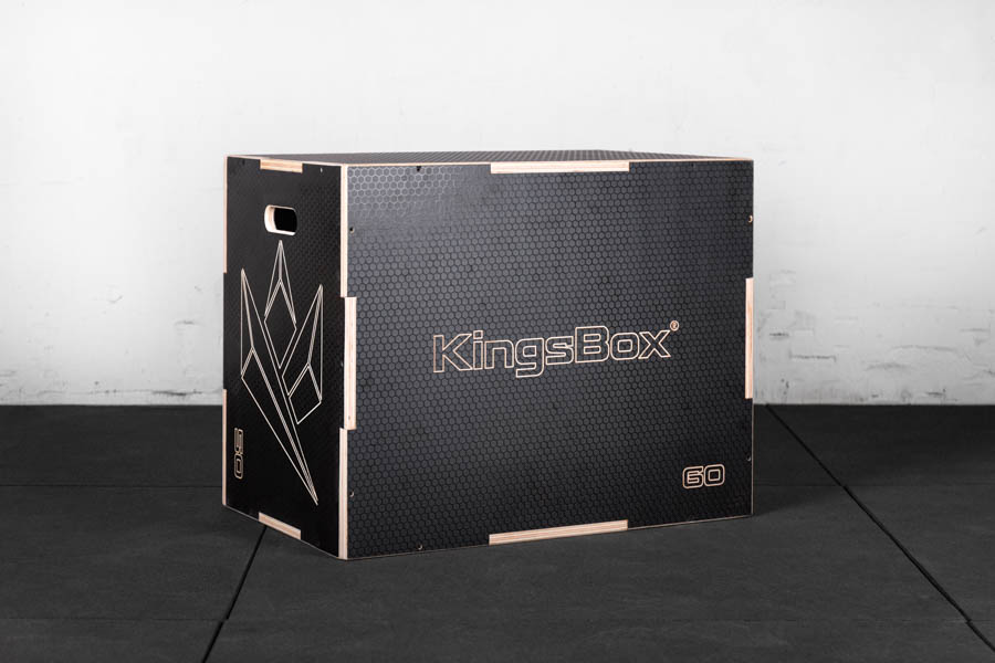 KingsBox Anti Slip Crossfit Plyo Box Zıplama Kutusu