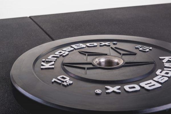 Royal Siyah Olimpik Plaka-Logo Baskılı