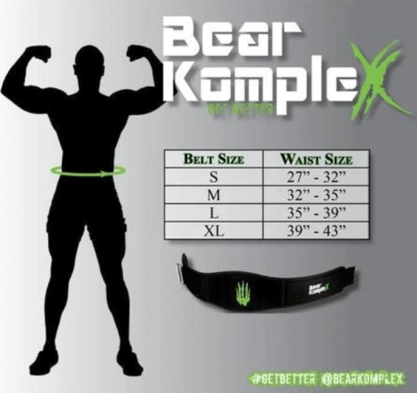 Bear KompleX Ayarlanabilir Patch Belt