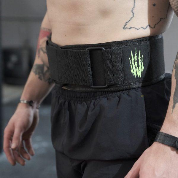 "Bear KompleX ""APEX"" Premium Deri Velcro Weight Lifting Belt"