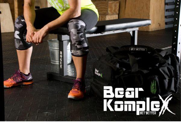 Bear Komplex Siyah Kamuflajlı Dizlik